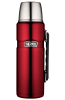 Thermos - Stainless King Stainless Steel Vacuum Flask 1.2L Red