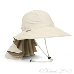 SUNDANCER HAT-Cream/Sand(Sunday Afternoons Sun Hat  UPF50+)