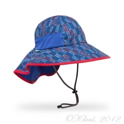 KIDS' PLAY HAT (UPF 50+) BLUE ARROW(Sundayafternoons Sun Hat)