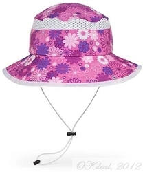 KIDS' FUN BUCKET HAT (UPF 50+) -Daisy Print