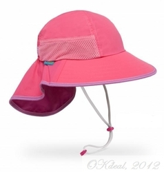 KIDS' PLAY HAT (UPF 50+)-Hot Pink(Sundayafternoon Sun Hat )