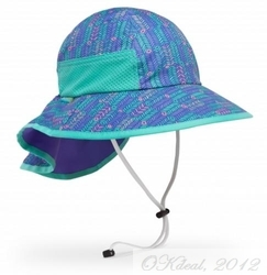 KIDS' PLAY HAT (UPF 50+)-Purple Arrow(Sundayafternoon Sun Hat )