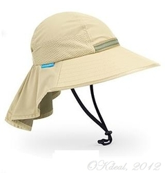 KIDS' PLAY HAT(UPF50+SUN HAT) - Tan/Chaparral(Sunday Afternoons)