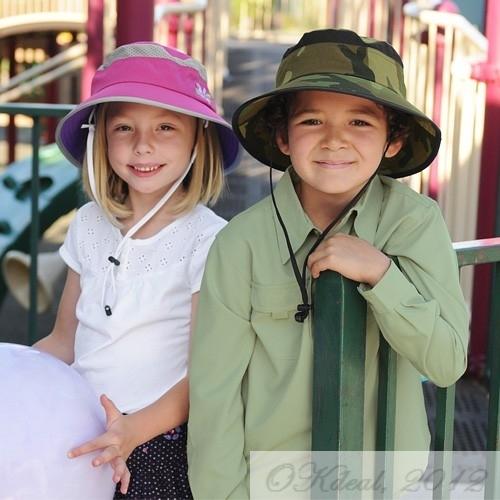 760e2cc1 KIDS' FUN BUCKET HAT (UPF 50+) - Fuschia/Grape(Sunday Afternoons ...