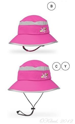 6eda19ef6 KIDS' FUN BUCKET HAT (UPF 50+) - Fuschia/Grape(Sunday Afternoons ...