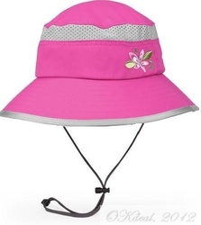 KIDS' FUN BUCKET HAT (UPF 50+) - Fuschia/Grape(Sunday Afternoons