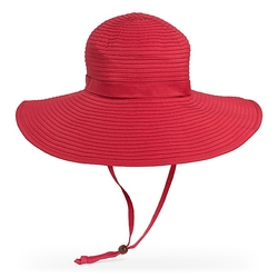 BEACH HAT (UPF 50+ SUN HAT) - RED(SUNDAY AFTERNOONS)