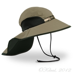 SUN HAT ADVENTURE HAT (UPF 50+) - SAND/BLACK(SUNDAY AFTERNOONS)
