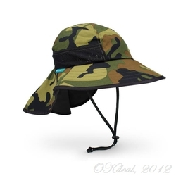 KIDS' PLAY HAT (UPF50+ SUN HAT) - Green/Camo(Sunday Afternoons)