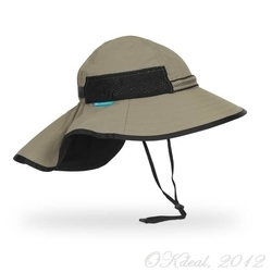 KIDS' PLAY HAT (UPF50+ SUN HAT) - Sand/Black(Sunday Afternoons)