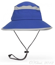 KIDS' FUN BUCKET HAT (UPF 50+) - Royal/Royal