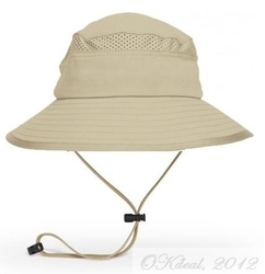 KIDS' FUN BUCKET HAT (UPF 50+)  - Tan/Chaparral